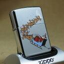ショッピングサンタ 1994年製 未使用 Zippo ジッポー '94クリスマス限定/SANTA WITH REINDEER
