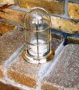 【ガーデンライト】真鍮製マリンランプ1号デッキライト シルバー