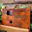 楽天セキスイデザインワークス表札【Copper Style】サイン&インターホンカバー(W=250mm)