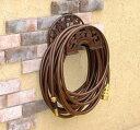 【ホースリール】ハンガーに掛けるタイプのホースで壁面にすっきり収納ホースハンガー