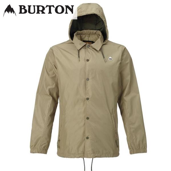 18SS BURTON コーチジャケットTrackback Jacket 19599100: Aloe 正規品/バートン/メンズ/スノーボード/ウエア/ウェア/snow