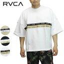 「全品5倍 26日(月)迄」20SS RVCA スウェットシャツ 2TONE JQ TAPE SS ba041-002: 正規品/ルーカ/ルカ/メンズ/半袖/ba041002/surf