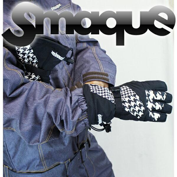 送料無料 14モデル SMAQUE ユニセックスグローブ GLOVE スマック スノーボード SMQG-38 :CHIDORI /snow/スノボ