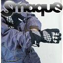 「期間限定!全品5倍 6/24/23:59時迄」送料無料 14モデル SMAQUE ユニセックスグローブ GLOVE スマック スノーボード SMQG-38 :CH..