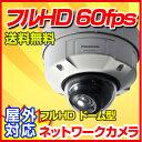 【防犯カメラ 監視カメラ】WV-SFV611L 屋外対応 ドームネットワークカメラ Panasonic 防犯カメラ 監視カメラ