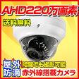 防犯カメラ AHD 220万画素 レビューを書いて送料無料 屋外対応ドームカメラ(2.8〜12mm) RD-CA212