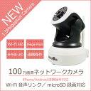 ネットワークカメラ【アウトレット】 音声リンク 100万画素 Wi-Fi対応 かんたん設定 NC500 secuOn