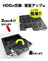 HDD交換は簡単