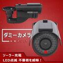 あす楽対応商品 ダミー防犯カメラ LED点滅センサーライト 室内外対応ダミーカメラ