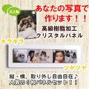 クリスタルパネル5枚セット ミニKRS5 写真たて デジカメプリント デジカメアクセサリー フォトフレーム 犬 猫 ペット 壁掛け
