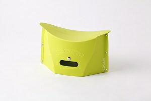 折りたたみ椅子 小さいサイズ 耐荷重100kg SOLCION ソルシオン イケックス工業 PATATTO miniグリーン PM002 smTB-k w4 あす楽 カワサキグリーンです(ボソ。。)パタットミニ アウトドアチェア パタットミニ