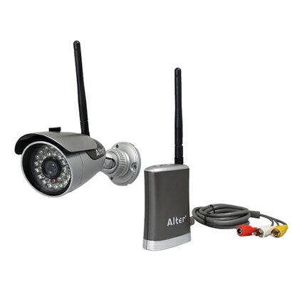 キャロットシステムズ17-7638オルタプラスハイビジョン無線カメラ&モニターセット