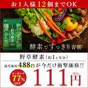 【店長暴走★クーポンで111円 約1ヵ月分】★野草酵素★《約...