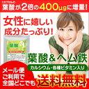 【お試しサプリ★約1ヵ月分】〓★葉酸&ヘム鉄 カルシウムビタ...