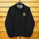 GNARLY【ナーリー】コーチジャケット Mush Jacket カラー:BLACK