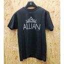 ショッピングスノーボード ALLIAN【アライアン】LOGO SHORT SLEEVE T BLACK 半袖 Tシャツ スノーボード2020