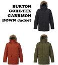 【バートン】BURTON ゴアテックス ダウンジャケット GORE-TEX GARRISON DOWN Jacket