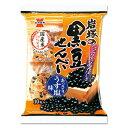 岩塚製菓 岩塚の黒豆せんべい 10枚入×12個...