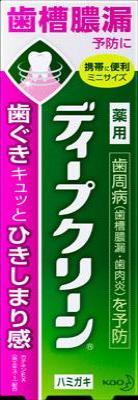 花王 ディープクリーン薬用ハミガキ 60g ×96個【送料無料】【オーラル】【歯磨き】【歯ブラシ】