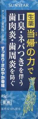 サンスター サンスター薬用塩ハミガキすっきりさわやか香味85g ×160個【送料無料】【オーラル】【歯磨き】【歯ブラシ】