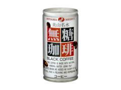 美山名水 無糖珈琲 190g×30本×2ケース【缶コーヒー】 【送料無料】