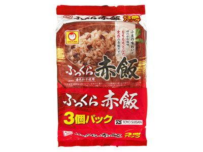 東洋水産 マルちゃん ふっくら赤飯 160g×3食パック×16個 【送料無料】