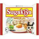 寿がきや食品 寿がきや 即席 SUGAKIYAラーメン袋 ×12個【送料無料】