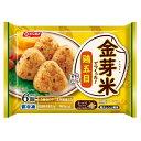 ショッピング金芽米 ニッスイ 金芽米でつくった!鶏五目おにぎり 6個入×12個 【冷凍食品】
