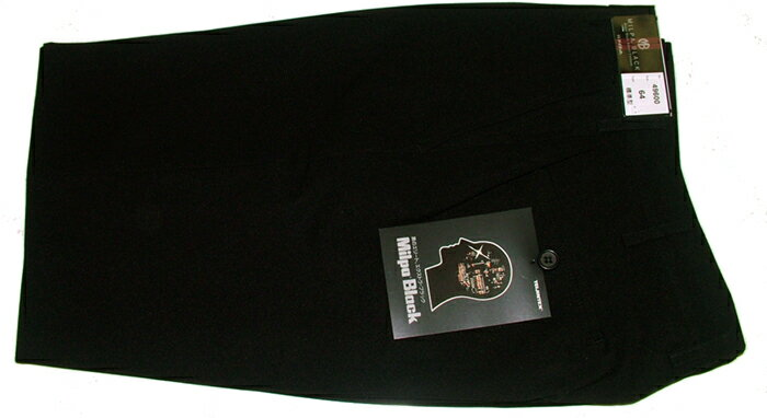 【サマーミルパブラック裏綿】(夏ズボン)の商品画像
