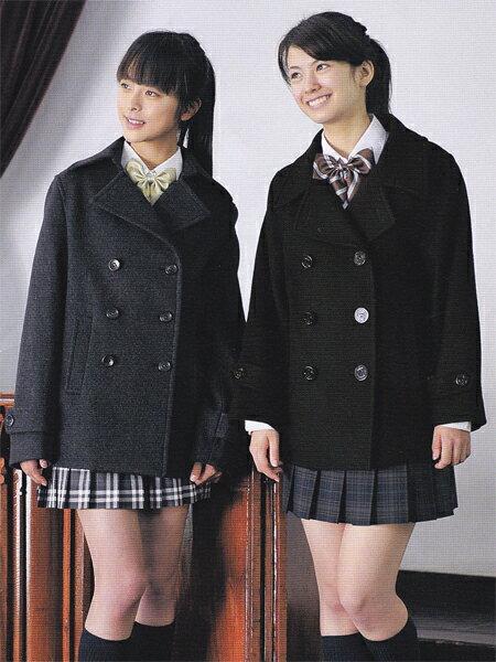リーズナブルショート丈Pコート かなり短めの丈でかわいい数量限定で、売り切れ御免