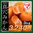 12月12日以降発送【選べる箱】愛媛県産 真穴みかん 3kg (まあなみかん)