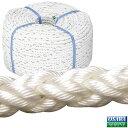 コイル ロープ 8つ打ち 直径12mmx全長200m 商品番号:23523 【ユニマットマリン・大沢マリン・ボート用品・船舶】