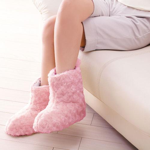 【ふんわりあったかルームブーツ】足首まですっぽり!の商品画像