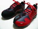 リニューアルして販売再開【平成21年度新商品 ダンロップスニーカータイプ安全靴】?マグナムST 靴ひもタイプ安全靴【ST301 レッド】