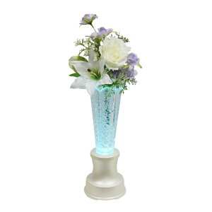 【送料無料】クリスタル灯花ともしびパールホワイト
