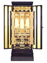 金仏壇(塗り仏壇)和18・浄土真宗・お西【送料無料】仏具込み