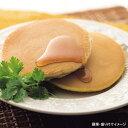【マリンフード】 銅板焼ホットケーキ 1袋(2枚入り) (メープル入りシロップ付きパンケーキ)【冷凍食品】【re_26】 【ポイント10倍】