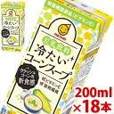 【只今ポイント10倍】マルサン 豆乳飲料 冷たいコーンスープ 200ml×18パック 【jo_62】【p10】 【ポイント10倍】【p10_sei】