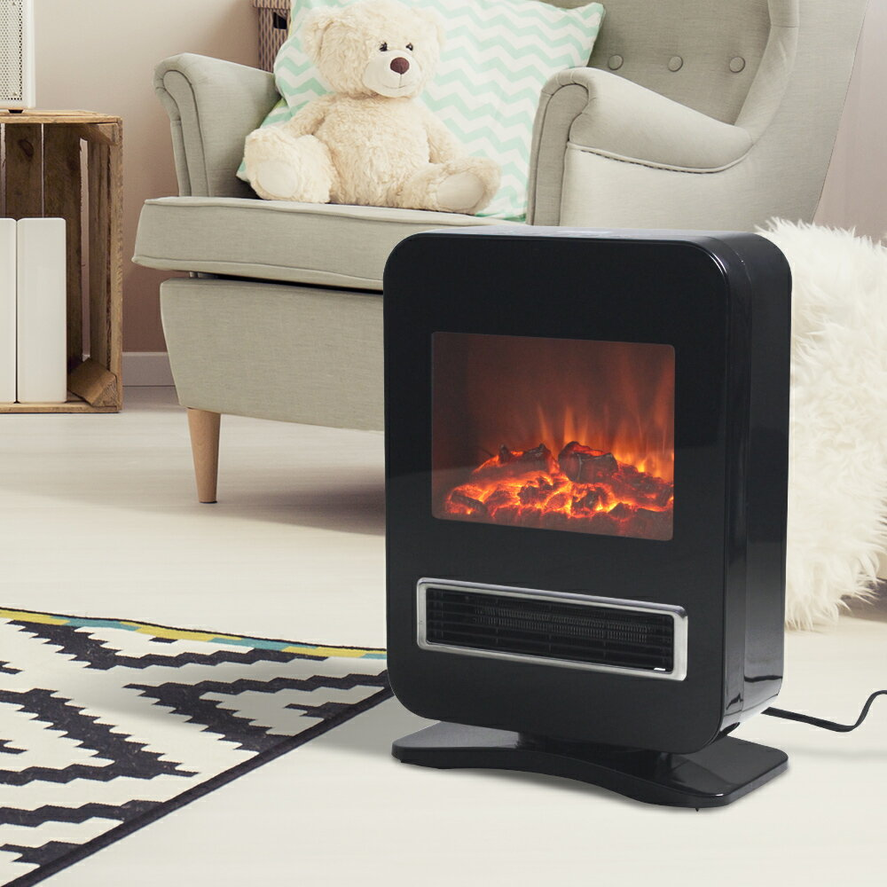 暖炉型セラミックヒーター 最新モデル | だんろ 暖炉 暖炉型 ヒーター 暖炉型ファンヒーター セラミックファンヒーター 足元暖房 セラミックヒーター