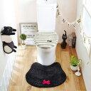 黒猫のトイレ(マット) (zacca)