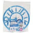 【東和産業株式会社】【洗濯】ハンガー EL2 丸ハンガー ピンチ20個付 ブルー