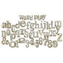 【送料無料】【Sizzix Bigz XL アルファベット死ぬティム ・ ホルツ単語で再生約 1 H 2 H】