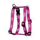 【Yellow Dog Design Roman Harness X-Small Pink Skulls by Yellow Dog Des...