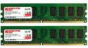 【送料無料】【Komputerbay 8GBメモリ 2枚組 4GBX2 DUAL デスクトップパソコン用 増設メモリ DDR2 PC2-6400 800MHz 240pin DIMM】