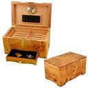 【送料無料】【Humidors-Luxury Collection ヒュミドール 葉巻ケース/湿度計 Cuban Crafters社【並行輸入】】