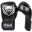 【送料無料】【【VENUM】 ボクシンググローブ Contender (コンテンダー) Boxing Gloves (黒) (16オンス)】 b00omvx0gy