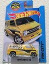 【送料無料】【2015 Hot Wheels Hw City - Custom 039 77 Dodge Van (Yellow)】 b00vcmsqqk