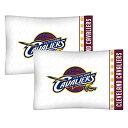 【送料無料】【セットの2?NBA Cleveland Cavaliers枕カバーバスケットボールチームロゴ寝具枕カバー】 b00psy5qlg