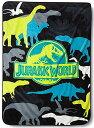 【Jurassic World Plush Throw】 b014vfopgy