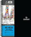 【送料無料】【Canson Artist Series Mix Media Pad 9X12 Side Wire by Canson】 b0...